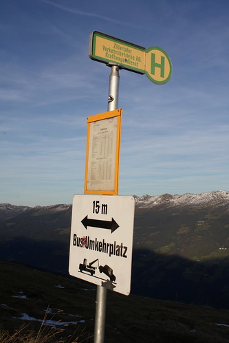 Bus-Umkehrplatz am Melchboden