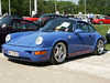 Porsche 911 (911gt2rs) Tags: event treffen meeting show 964 tuning tief low stance carrera 2 4 rs youngtimer blau blue sportwagen coupe