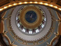 Dragon's Eye (cliffordswoape) Tags: perspective different dragonseye dragon republic army grand gild beauty dome statehouse desmoines iowa