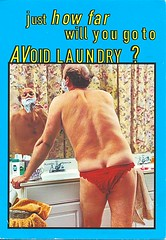 24 roxy (Rocky's Postcards) Tags: butt crack postcard roxy lingerie shaving bathroom humor laundry surf adcard panties procrastination
