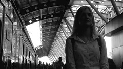 (plyushchikhafilm) Tags: girl urban station train