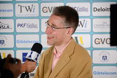 Mickey Adams press interview (Johnchess) Tags: 29january2017 round6 tradewisegibraltarmasters