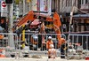CBD & South East Light Rail - George and Hay Street at Chinatown - Update 28 December 2016  (2) (john cowper) Tags: cselr sydneylightrail haystreet georgestreet haymarket chinatown construction infrastructure transportfornsw junction sydney newsouthwales