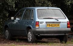 F640 RCR (2) (Nivek.Old.Gold) Tags: 1989 vauxhall nova 12l 5door wadhamstringer fareham