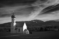 Bavarian Curch (wende60) Tags: alps church mountains clouds föhn germany penzberg