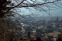 Dorénaz (bulbocode909) Tags: valais suisse dorénaz villages maisons églises arbres branches nature brume hiver explore