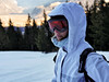 The slopes are calling...and I must go! (matej.duzel) Tags: outdoor people portrait ski skier girl woman female skiing black slope snow white lumix leica panasonic intaly alto adige brunico sud tirol kronplatz plan de corones italy winter vacation natural light forest calm
