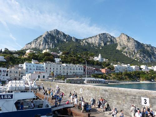 Capri kikötője