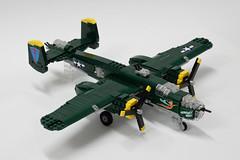 North American B-25J Mitchell (1) (Dornbi) Tags: north american b25 mitchell usaaf usaf us bomber wwii