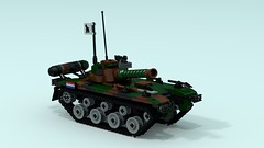 Deconstructor MK-I (The Driving Dutchman) Tags: lego ldd ldd2povray povray tank mainbattletank army mbt deconstructor mki main battle great bricktonian war