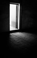 2017_19 (Chilanga Cement) Tags: fuji fujix100t x100t xseries x100s x100 x bw blackandwhite monochrome door shadows shadow spilling spill toilet night lowlight