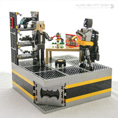 Happy Chinese New Year! (dvdliu) Tags: batman movie lego alfred bruce wayne happy chinese new year cny moc dc super heros