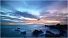 Sunset at Playa San Juan (stefan.bauer) Tags: sunset playasanjuan playa shore tenerife lagomera teneriffa spain canaryislands d7100 beach sun clouds colorful colors