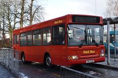 D&G 181 @ Cannock bus station (ianjpoole) Tags: dg buses dennis dart plaxton mini pointer cnz2250 181 working route 67 cannock bus station wolverhampton art gallery