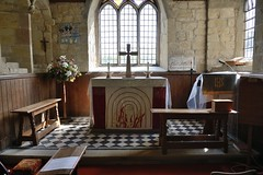 036-20160813_Abberley Norman Church-Worcestershire-Sanctuary and Altar at E end of Church (Nick Kaye) Tags: abberley worcestershire england church