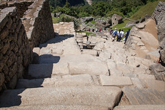 Steep Steps (kate willmer) Tags: steps stairs stone walls sunshine architecture buildings macchupicchu peru