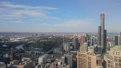 Eureka Tower and Southbank - Level 41 - Robert Walters, Melbourne (avlxyz) Tags: aerialview melbourne