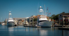 Beaufort NC (Marc_714) Tags: reflection boats boat nc northcarolina beaufort taylorscreek marc714