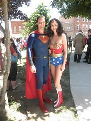 Superman and Wonder Woman (wonderous233) Tags: comics dc cosplay superman wonderwoman comicbooks dccomics comicon wonderwomancosplay supermancosplay