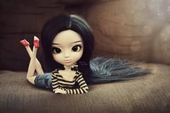 Sharon ~ (Dekki) Tags: fashion asian doll sharon planning chan nana groove pullip jun obitsu junplanning rewigged
