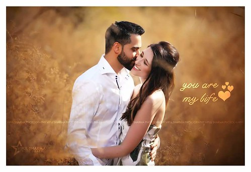 You Are My Life Lovely Couple Love Pose Pre