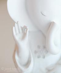 Simplicity (j.towbin ) Tags: white elephant macro ganesh figurine mostlywhite minimalsim macromondays allrightsreserved