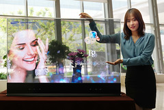 Mirror and transparent OLED displays Samsung