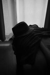 SATURDAY (YOUANDMEORUS) Tags: leica blackandwhite bw monochrome hat blackwhite saturday bn leitz artinbw leitzcanada tetsuyamiyamori dontwakemeupyet