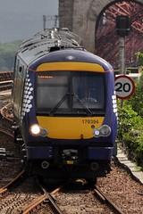 170394 (robert55012) Tags: bridge scotland fife scotrail forth northqueensferry turbostar class170 abellio 1l57 170394