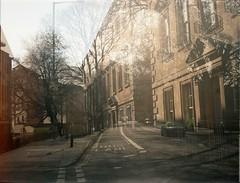 The Courtyard/Whiteladies Road (dichohecho) Tags: film analog 35mm bristol bath analogue sprinty kodakcolorplus200 dichohecho kingregulasprintybc