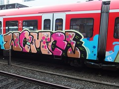 WCMC (mkorsakov) Tags: train graffiti zug bahnhof colored s1 sbahn hbf dortmund bunt 143 wcmc