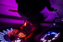 Mangere Bridge Glow (ibikenz) Tags: bike bicycle night time led alive healing stay ttt thrive matariki mangere rx100 southauckland mangerebridge monkeylectric asssaver m232 monkeylight sonycybershotdscrx100 friding denisthe12speed bikeakl bikethenight
