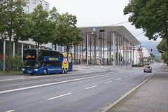 German Megabus (Vodka Burner) Tags: germany hamburg bahnhof kassel vanhool megabus mg2 kasselwilhelmshhe megabuscom 56013 astromega vanhoolastromega vanhooltx wilhelmshheallee meg4013 kasselwilhelmshhebahnhof
