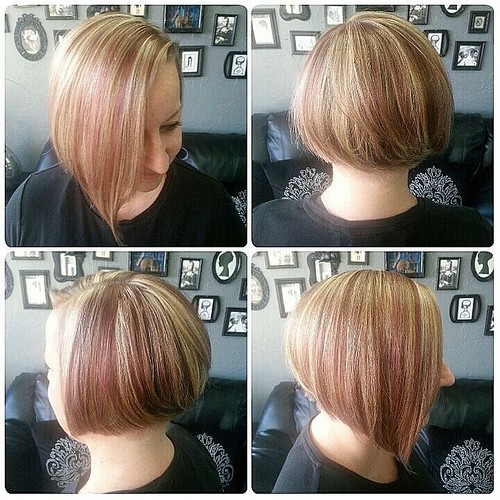 e08b3795ee Pastel Highlight and Lowlight with Undercut Bob Pastel Highlight and  Lowlight with Undercut Bob : I
