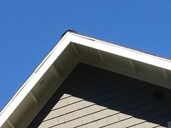 Chevron quilt inspiration (square one studio) Tags: shingles bluesky roofline photostream craftsmanbungalow chevronquilt
