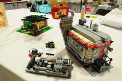 VA BrickFair 2015  Train & Town (EDWW day_dae (esteemedhelga)) Tags: lego bricks minifigs traintown moc afol minifigures brickfair vabrickfair2015
