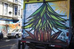 plantrees (eb78) Tags: sf sanfrancisco california ca streetart truck graffiti bayarea missiondistrict plantrees