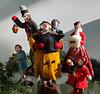 Christmas Carolers (Colorado Sands) Tags: christmas display figures denver colorado singers sandraleidholdt usa christmascarolers merrychristmas