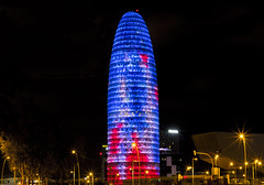 Torre Agbar (H31157r0M) Tags: nightscape night tower architecture building spain barcelona skyscraper agbar agbartower catalunya ночь барселона испания башняагбар агбар каталония архитектура здание urban nightlights cityscape lights longexposure jeannouvelle b720 b720ferminvazquezarquitectos dragados city город catalonia torre torreagbar bcn