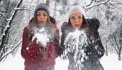 Winter <3 (Crazy lovers) Tags: winter girls kosutnjak beograd samsung beautiful magical snow