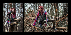(sharyn.ashley) Tags: fashion portrait canon70d canon backyard woods alternative
