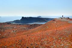Nea Kameni volcano (espoopse) Tags: nea kameni santorini thira greece grecia isla egeo aegean cícladas cyclades alpine alpino volcano volcán sea mar