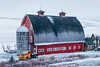 As The Years Go By (Pedalhead'71) Tags: colfax washington unitedstates us barn truck palouse winter