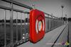 Rescue Ring (F. Peter Blank) Tags: 2016 bremen edelstahl geländer peterblank rescuering rettungsring urlaub weserwehr zaun beedaaah fence fpb fpbphotography fpbphotographyde railing safety stainlesssteel