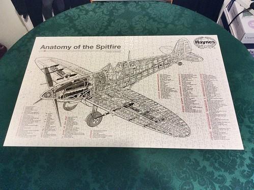 Spitfire Jigsaw puzzle.