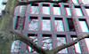 Blaak 16 Rotterdam 3D (wim hoppenbrouwers) Tags: anaglyph stereo redcyan blaak16 rotterdam 3d blaak building