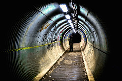 01/21/2017 - 365 Main Street Project – 292 of 365 (Sixstring563) Tags: 365 main street project tunnel vision umbc pedestrial