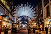 New Bond St. Christmas lights, London (Zygios) Tags: london europe capital street people car dark night architecture crowd streetphotography christmas christmaslights lights newbondstreet hdr photomatix nikonflickraward