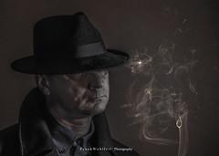 Sherlock Holmes (mr.wohl) Tags: portrait character characterportrait face smoke cigarette cigar me had dusty dirty dark sherlock holmes sherlockholmes investigation privat gesicht hut schnüffler detektiv ermittler comic stark maskulin rauch raucher held