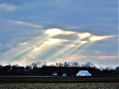 Farmstead blessing (Lana Pahl / Country Star Images) Tags: sliderssunday ruralamerica renewingruralamerica cloudsskyoftheworld sunbeams sunraysunday